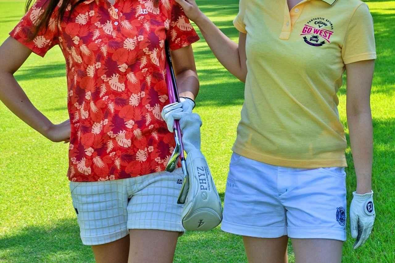 画像: 男性ゴルファーのみなさん、ゴルフ女子のどんなファッションがお好きですか?(撮影/阪上恭史)