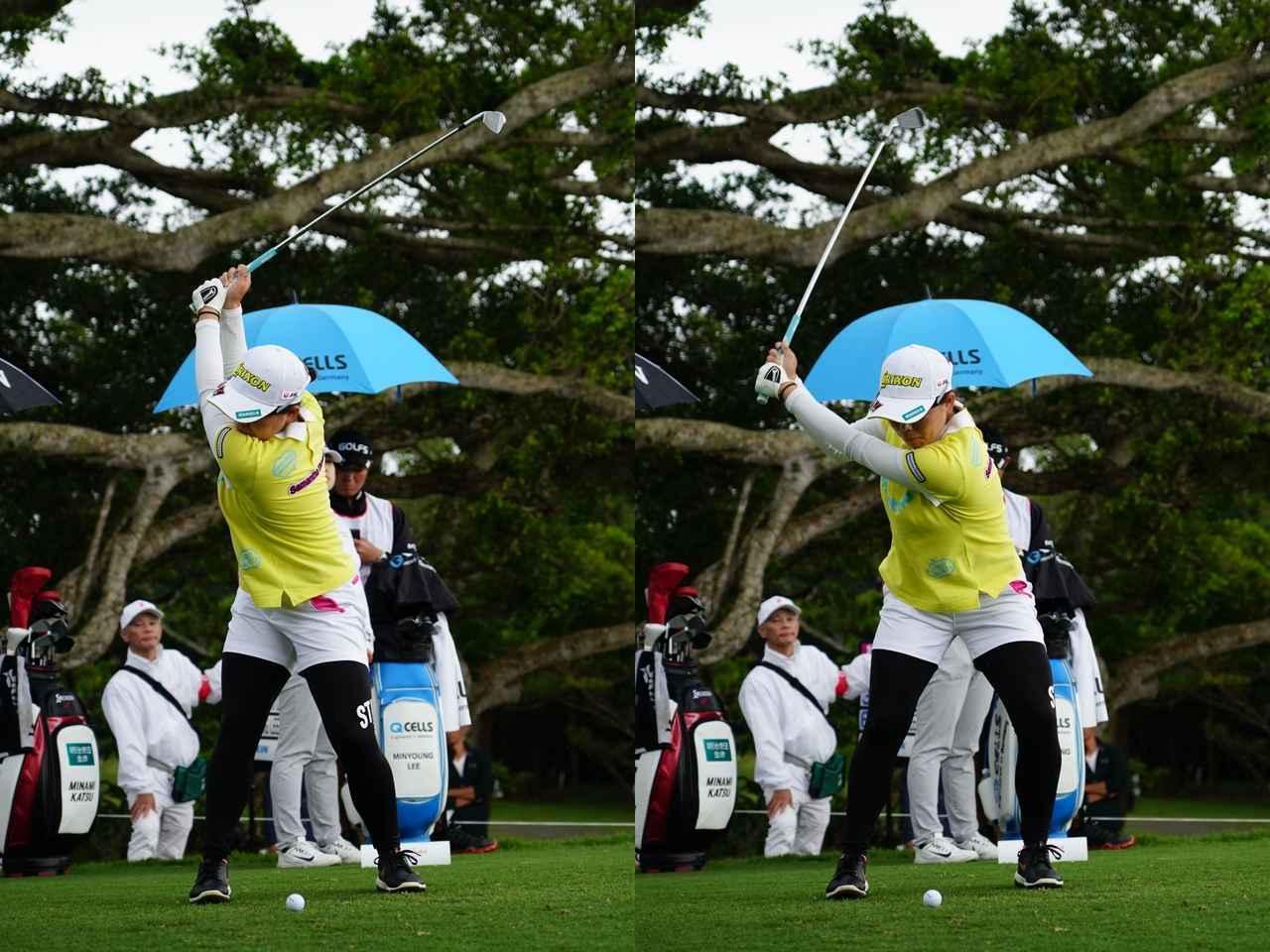 画像: パーオン率昨年70位から今年は3位! 勝みなみの「極上」インパクト - みんなのゴルフダイジェスト