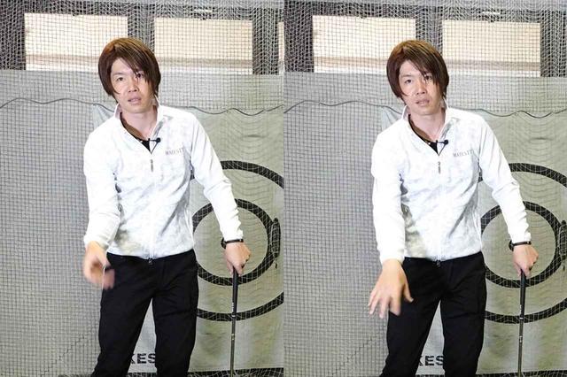 画像: 右手の使い方が飛ばしに重要だと鈴木は言う