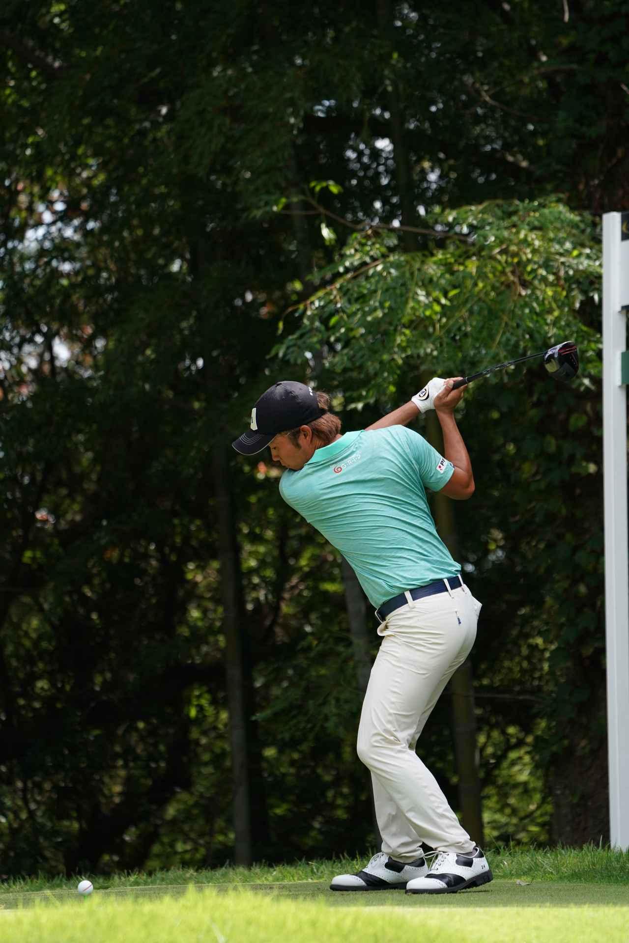 Images : 4番目の画像 - 浅地洋佑のドライバー連続写真 - みんなのゴルフダイジェスト
