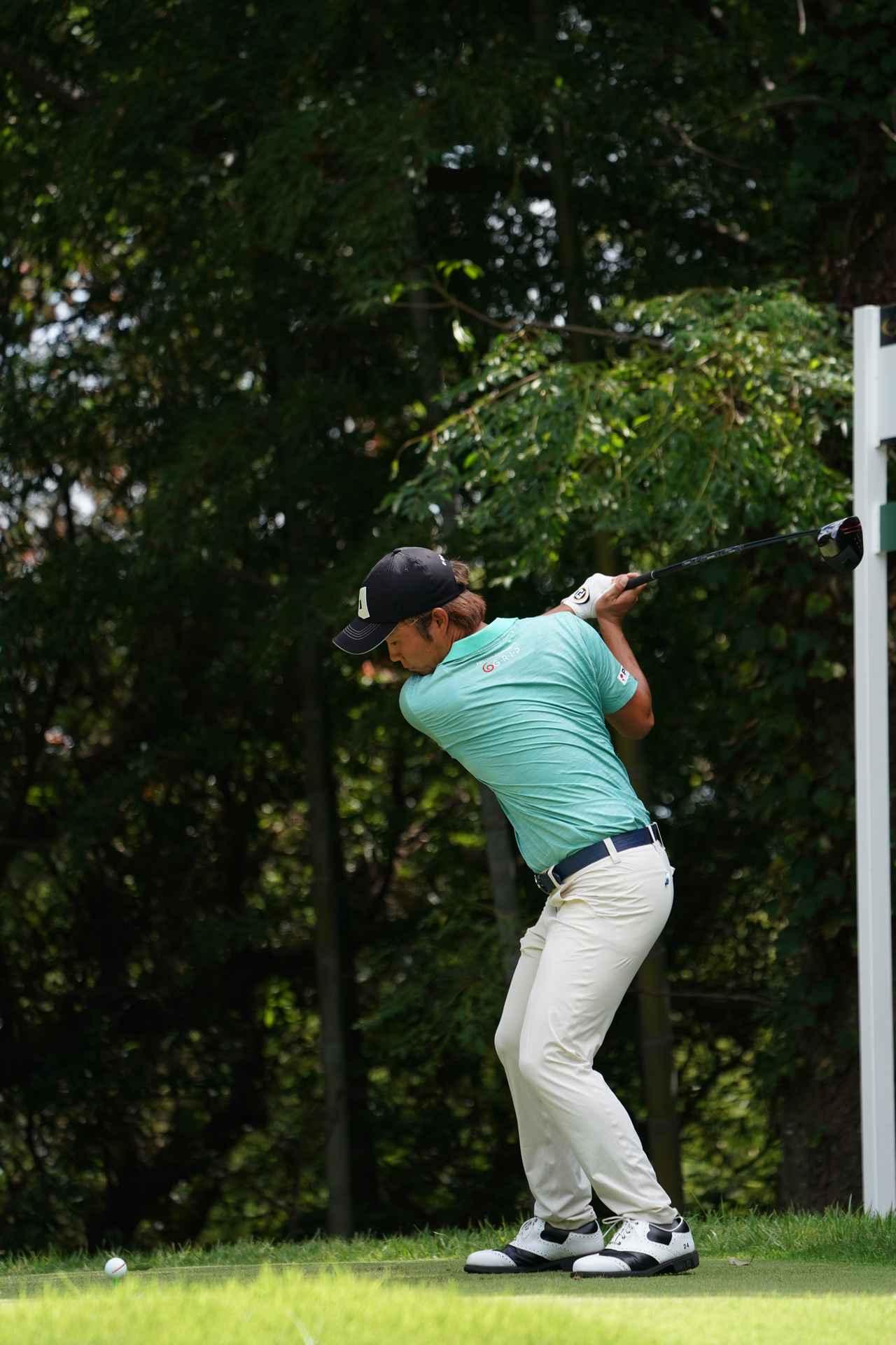 Images : 5番目の画像 - 浅地洋佑のドライバー連続写真 - みんなのゴルフダイジェスト