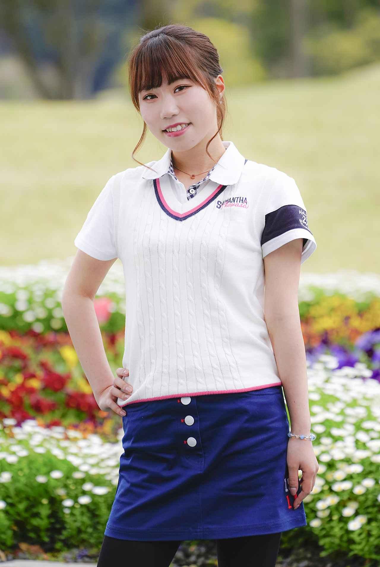 画像: 「好きなプロゴルファーは香妻琴乃プロ、山内日菜子プロです」