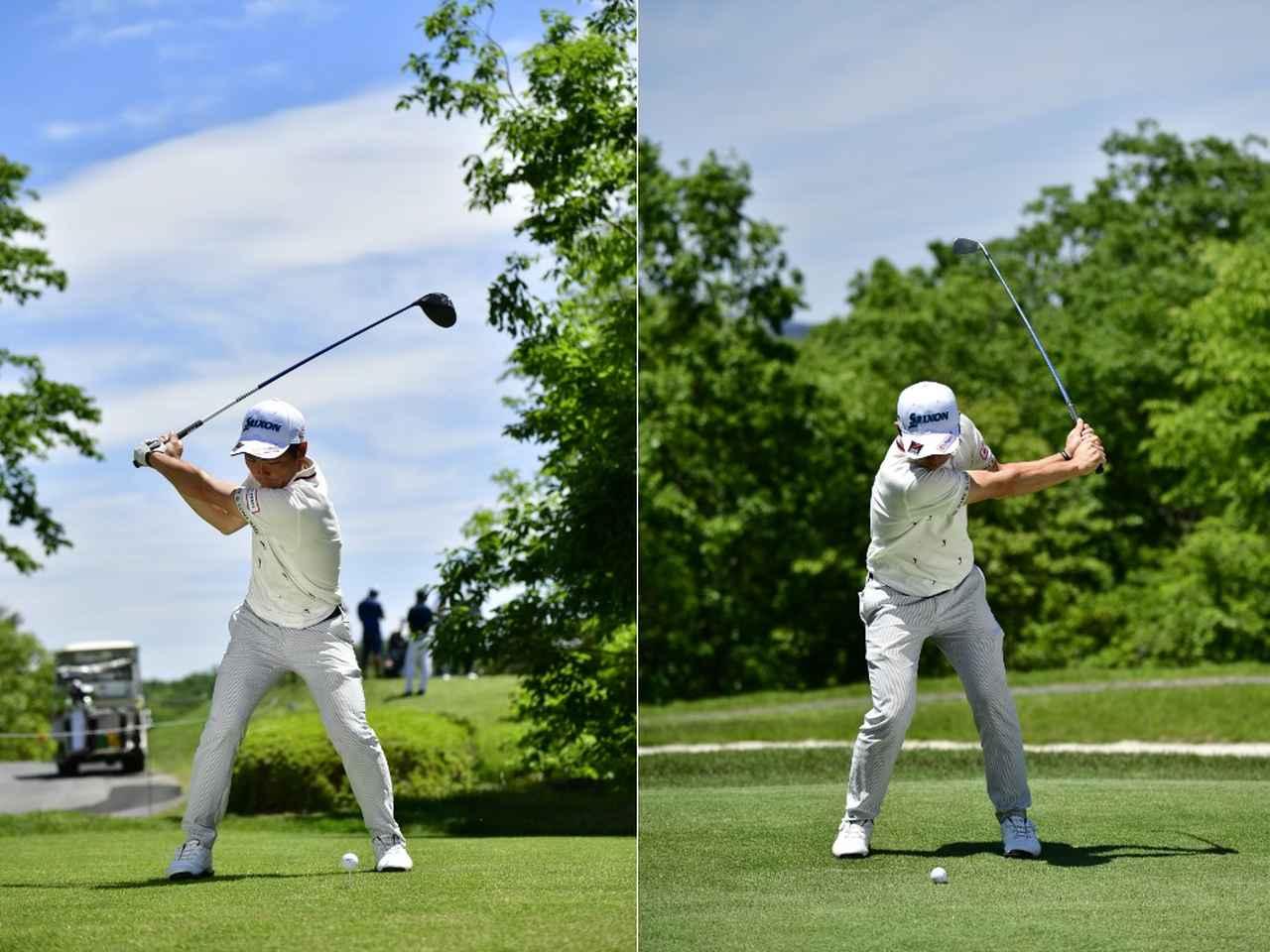Images : 3番目の画像 - 高橋慧の左右打ち連続写真 - みんなのゴルフダイジェスト