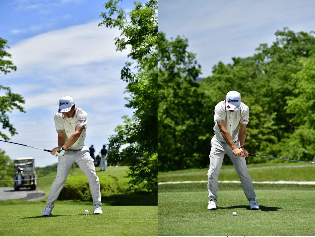 Images : 4番目の画像 - 高橋慧の左右打ち連続写真 - みんなのゴルフダイジェスト