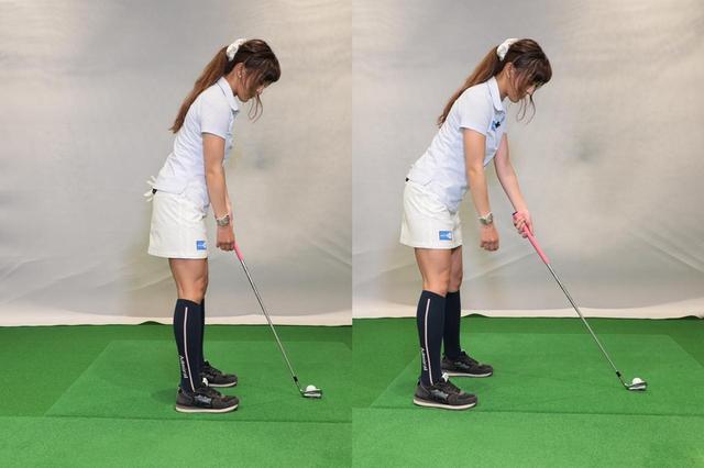 画像: ボールに近すぎても遠すぎてもミスの原因になる。まずは適正なアドレスを作ろう