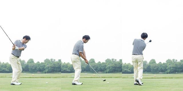 """画像: 打った後に加速させるのが飛ばしのコツ!? ドライバーの""""アクセルワーク""""を覚えよう【これでいいの?これだけで飛ぶの?vol.17】 - みんなのゴルフダイジェスト"""