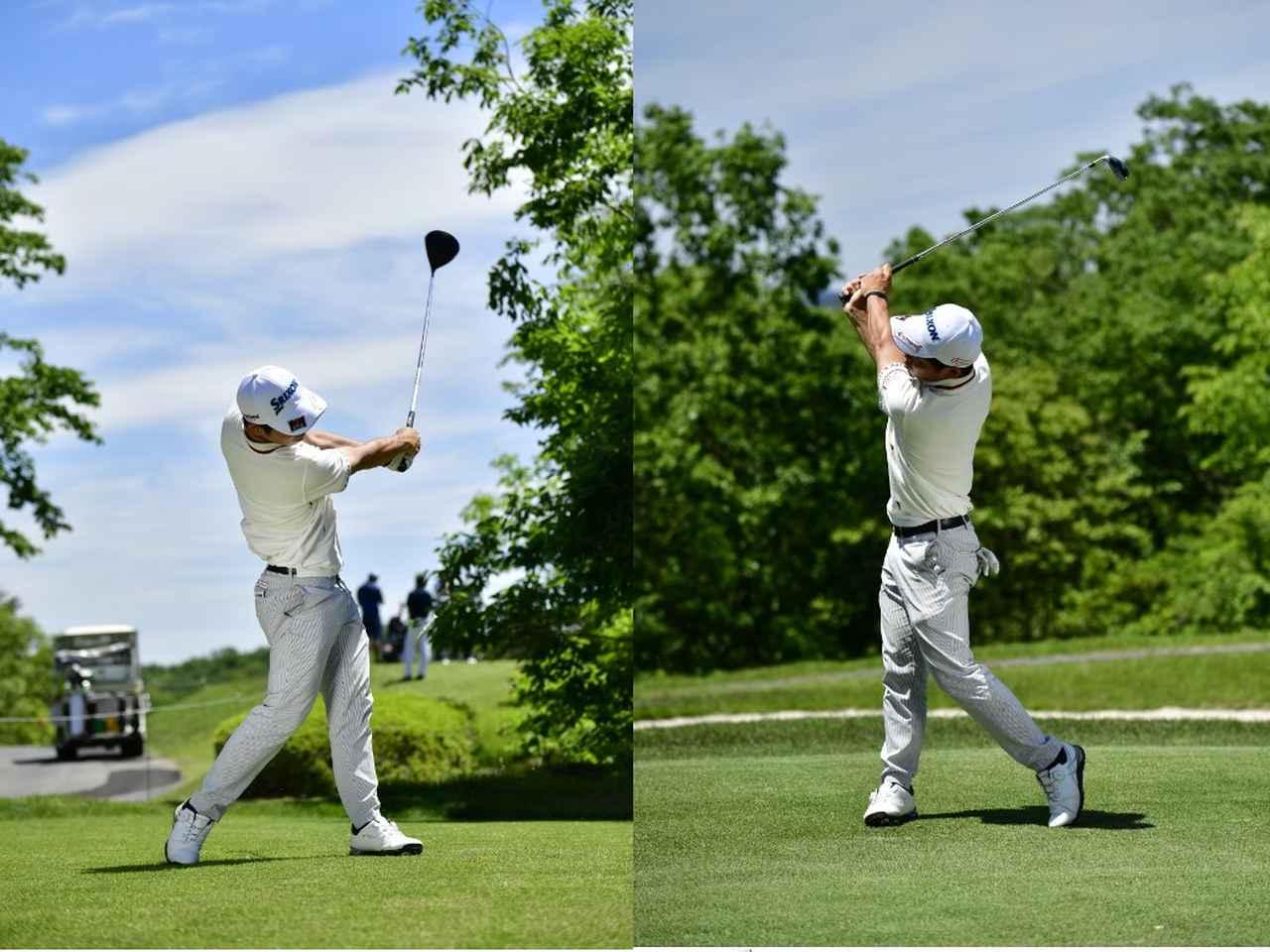 Images : 6番目の画像 - 高橋慧の左右打ち連続写真 - みんなのゴルフダイジェスト
