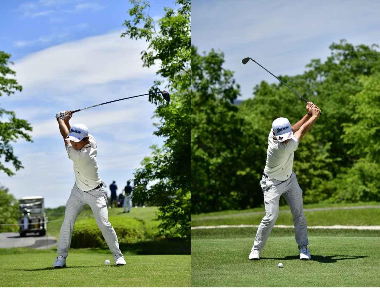 Images : 2番目の画像 - 高橋慧の左右打ち連続写真 - みんなのゴルフダイジェスト