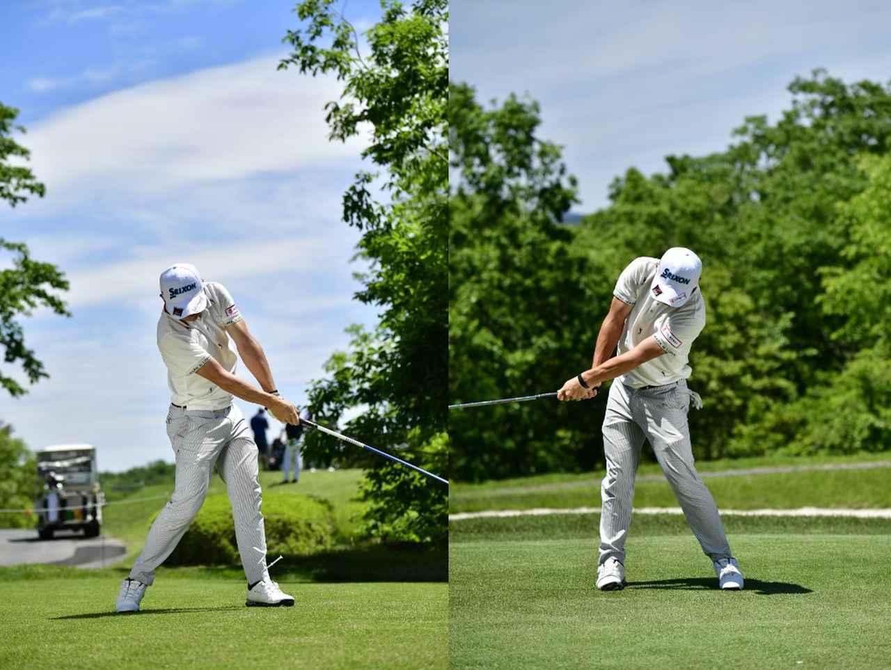 Images : 5番目の画像 - 高橋慧の左右打ち連続写真 - みんなのゴルフダイジェスト