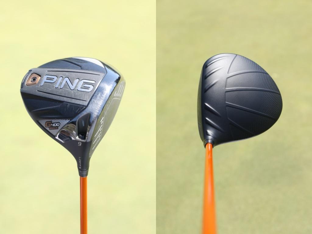 画像: ピンの最新モデルG410プラスではなく、G400MAXを使用している。曲がらないし飛ぶから変える必要がないという。シャフトはツアーADのDI6(TX)