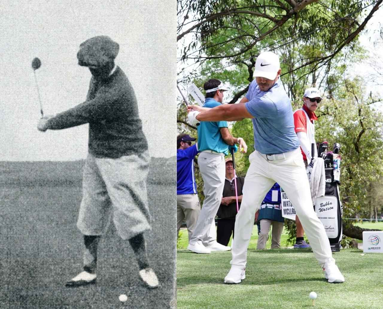 Images : 3番目の画像 - ボビー・ジョーンズとブルックス・ケプカのスウィング比較 - みんなのゴルフダイジェスト