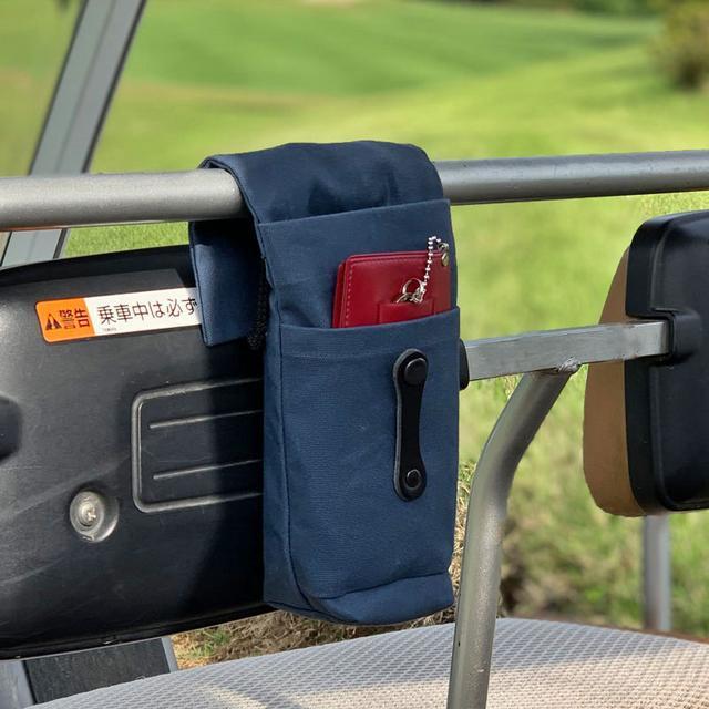 画像: 【小物をまとめてカートにセット】3WAYカートポーチ-ゴルフダイジェスト公式通販サイト「ゴルフポケット」