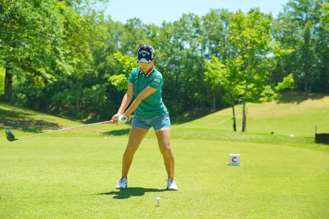 Images : 3番目の画像 - 上田桃子のドライバー連続写真 - みんなのゴルフダイジェスト