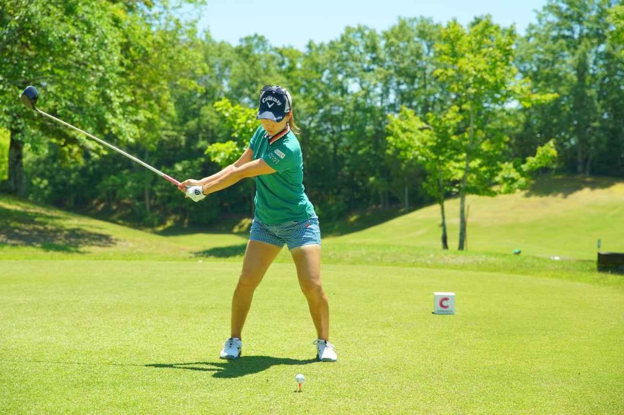 Images : 4番目の画像 - 上田桃子のドライバー連続写真 - みんなのゴルフダイジェスト