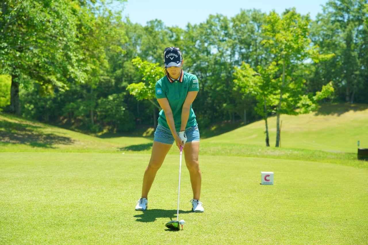 Images : 1番目の画像 - 上田桃子のドライバー連続写真 - みんなのゴルフダイジェスト