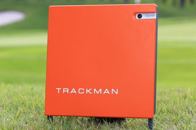 画像: オレンジの計測器といえばトラックマンというくらい認知されている