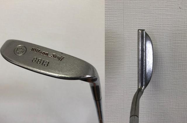 画像: ウイルソン『8813』。数多くの復刻版やバージョン違いのある名器だが、オリジナルはネックのテーパー形状に特徴がある