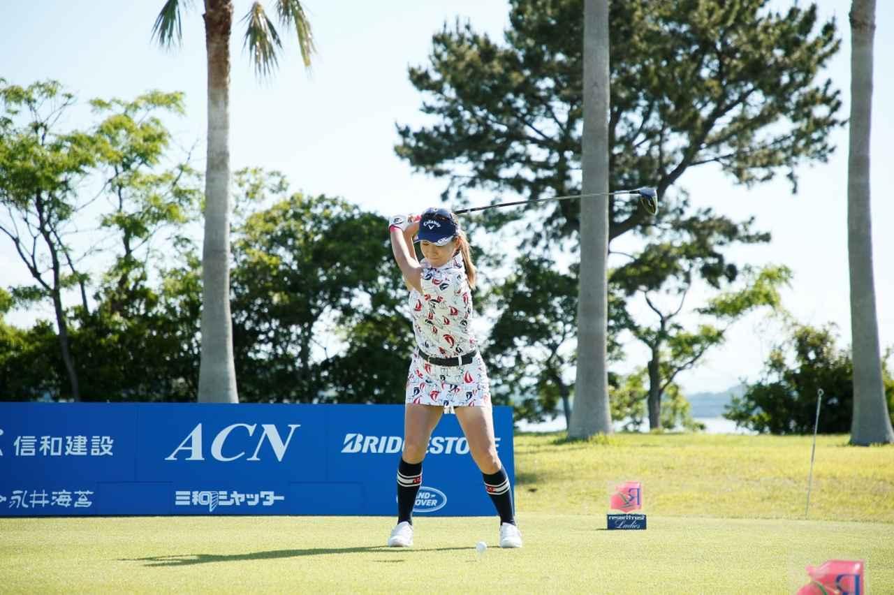 Images : 6番目の画像 - 藤田光里のドライバー連続写真 - みんなのゴルフダイジェスト