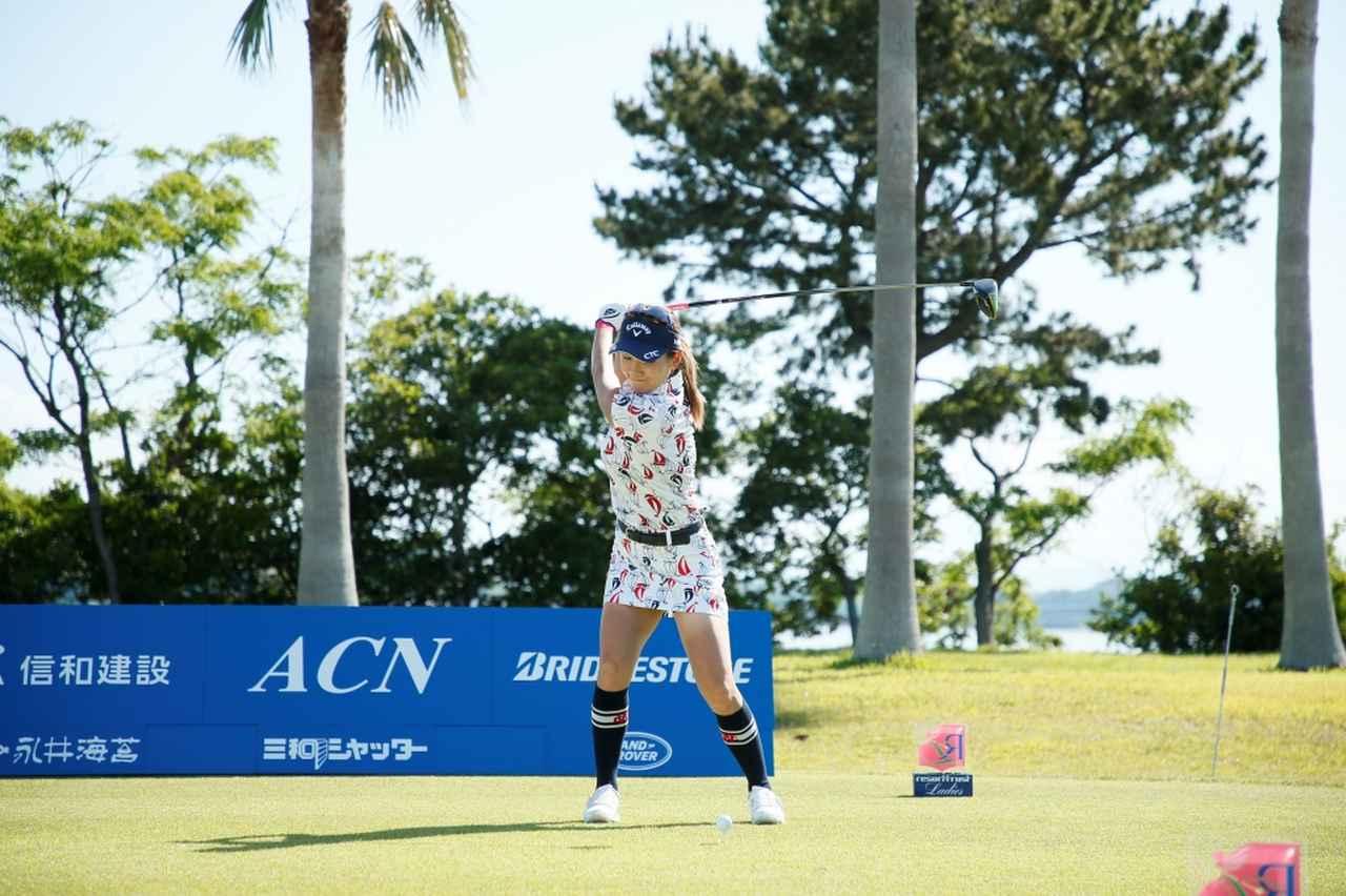 Images : 5番目の画像 - 藤田光里のドライバー連続写真 - みんなのゴルフダイジェスト