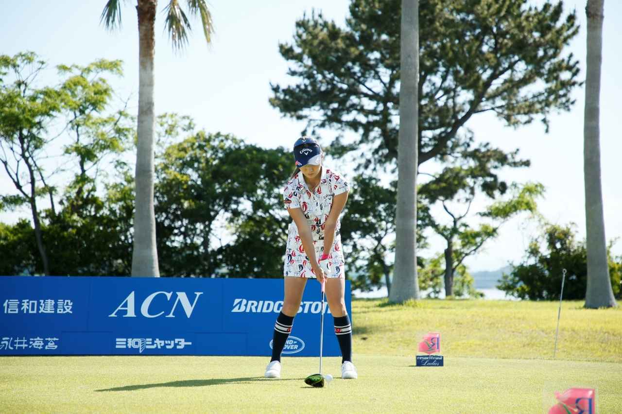 Images : 1番目の画像 - 藤田光里のドライバー連続写真 - みんなのゴルフダイジェスト