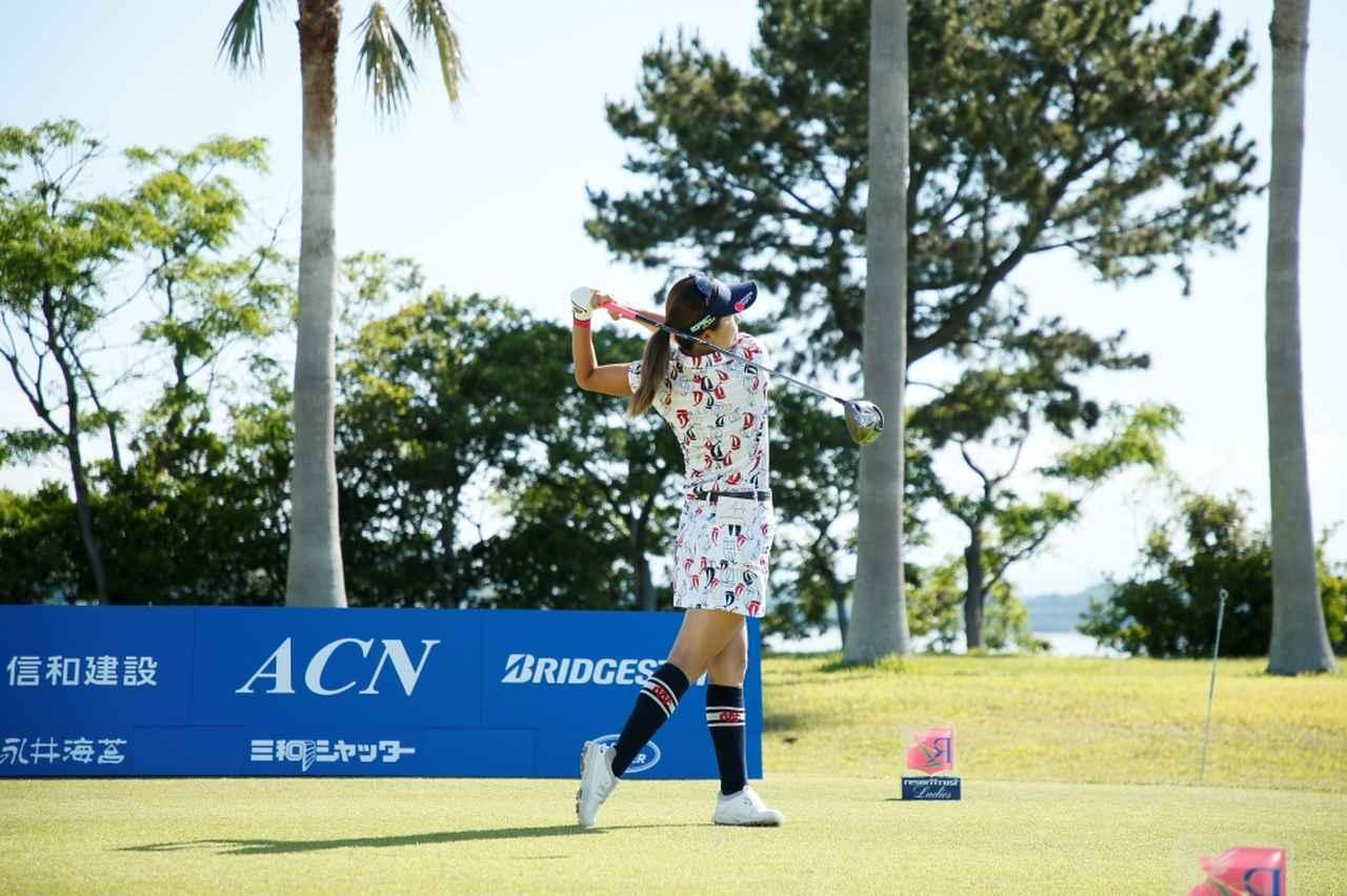 Images : 15番目の画像 - 藤田光里のドライバー連続写真 - みんなのゴルフダイジェスト