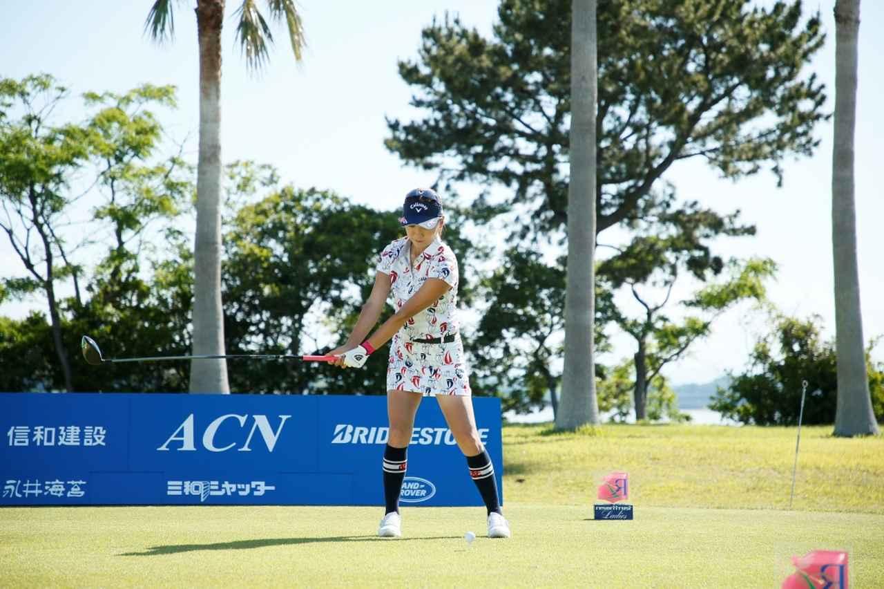 Images : 2番目の画像 - 藤田光里のドライバー連続写真 - みんなのゴルフダイジェスト