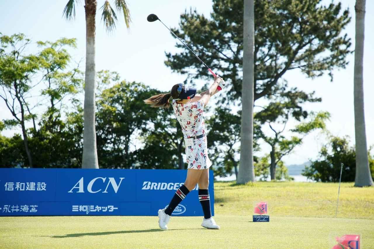 Images : 11番目の画像 - 藤田光里のドライバー連続写真 - みんなのゴルフダイジェスト
