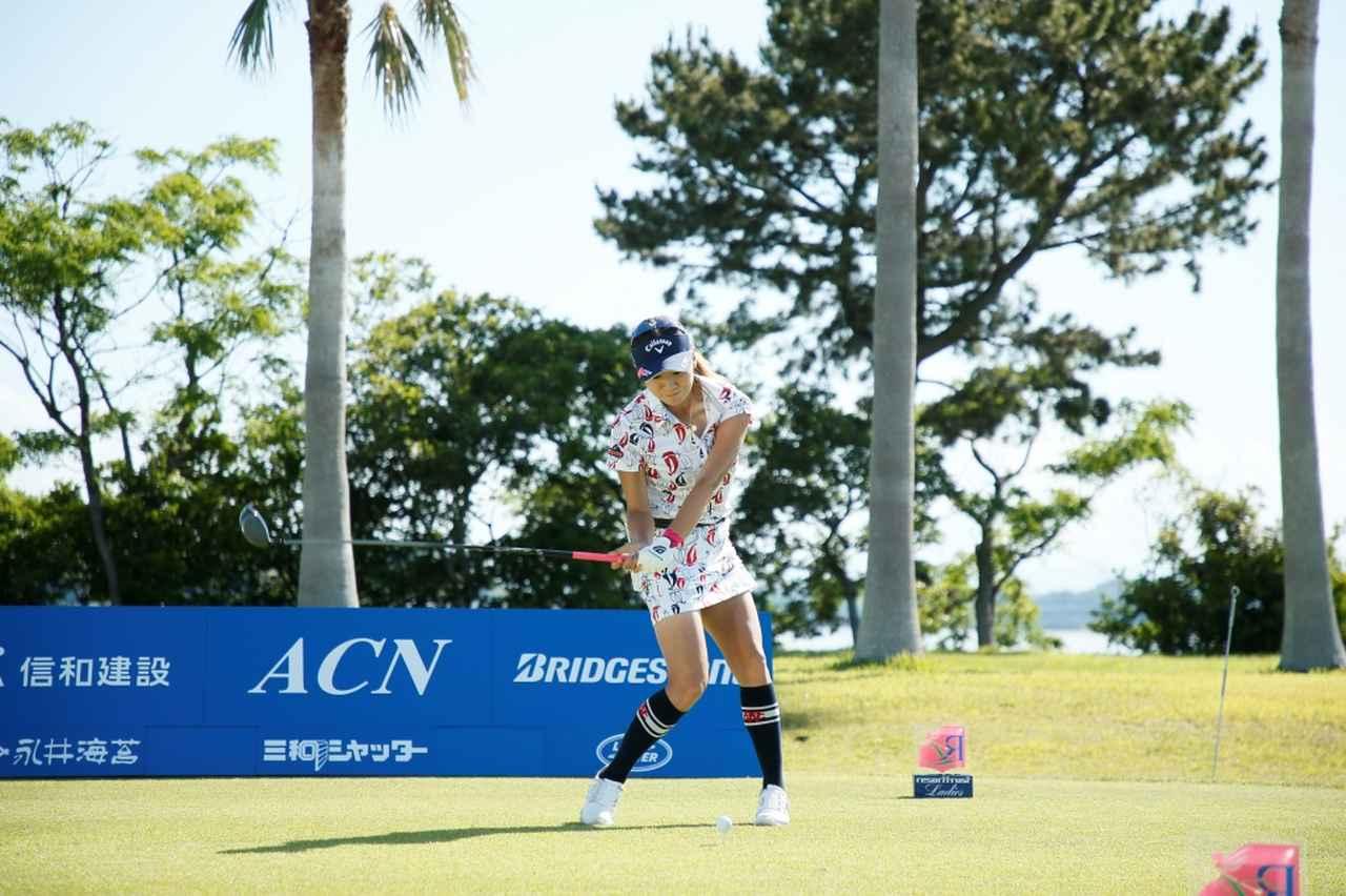 Images : 8番目の画像 - 藤田光里のドライバー連続写真 - みんなのゴルフダイジェスト