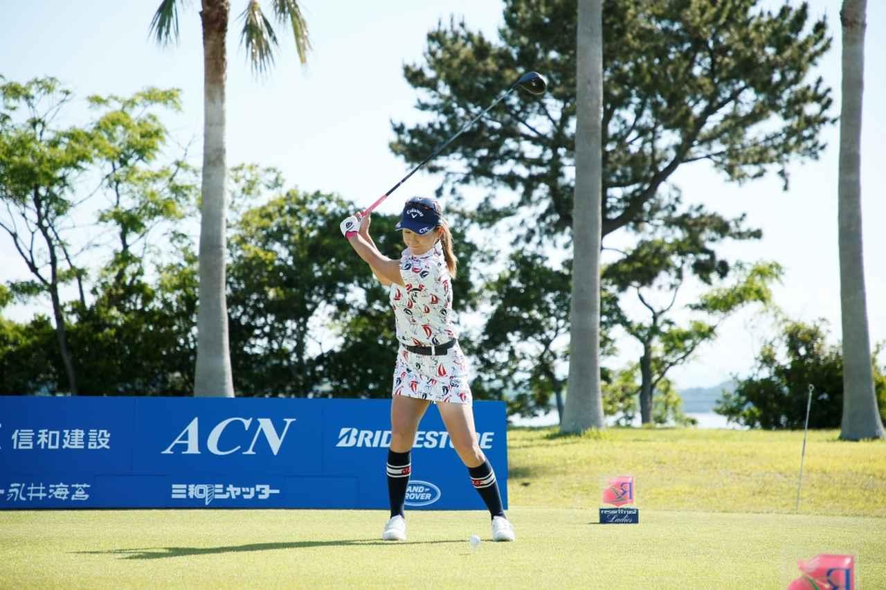 Images : 4番目の画像 - 藤田光里のドライバー連続写真 - みんなのゴルフダイジェスト