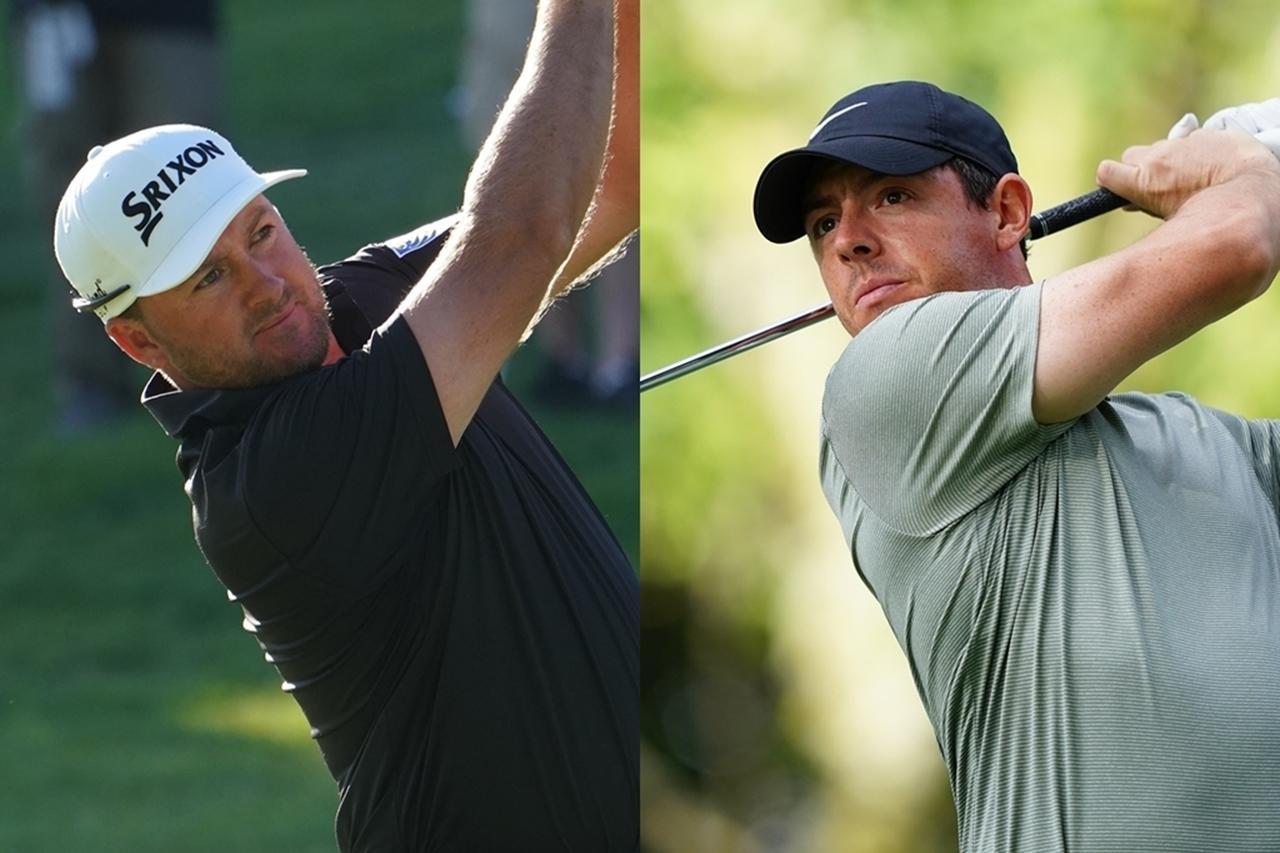 画像: ロイヤルポートラッシュを知るローリー・マキロイ(右)、グレアム・マクドウェル(左)に優勝するチャンスがあるとクラーク
