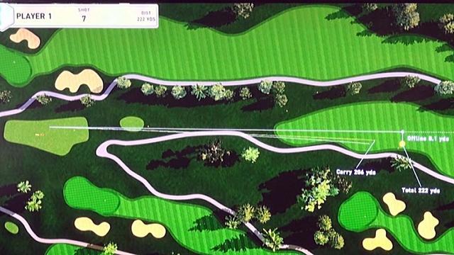 画像: ヒールアップを取り入れると、今日イチのまっすぐでトータル222ヤード飛ばした