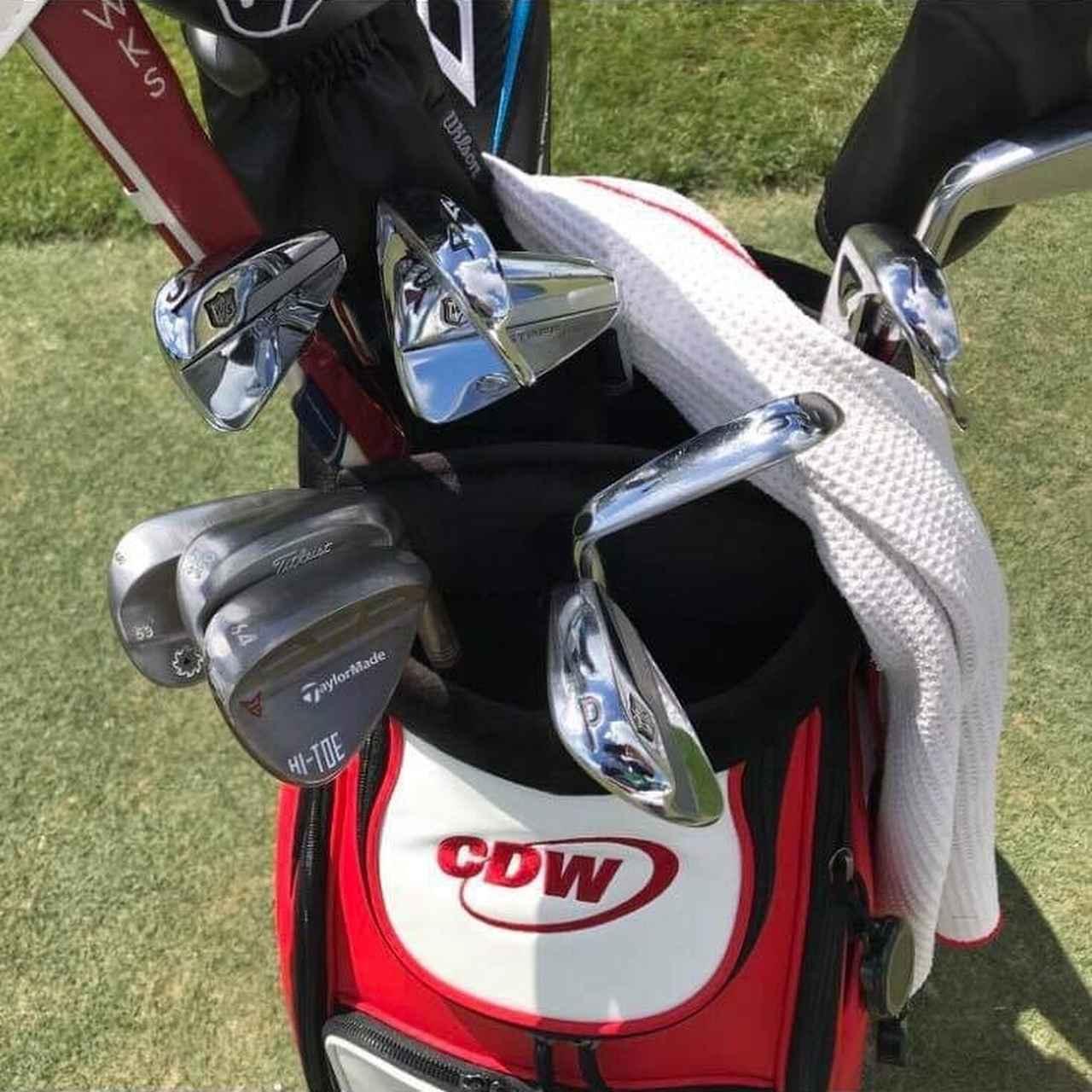 画像: 全米オープン覇者ウッドランドのバッグには64度ウェッジが入れられていた
