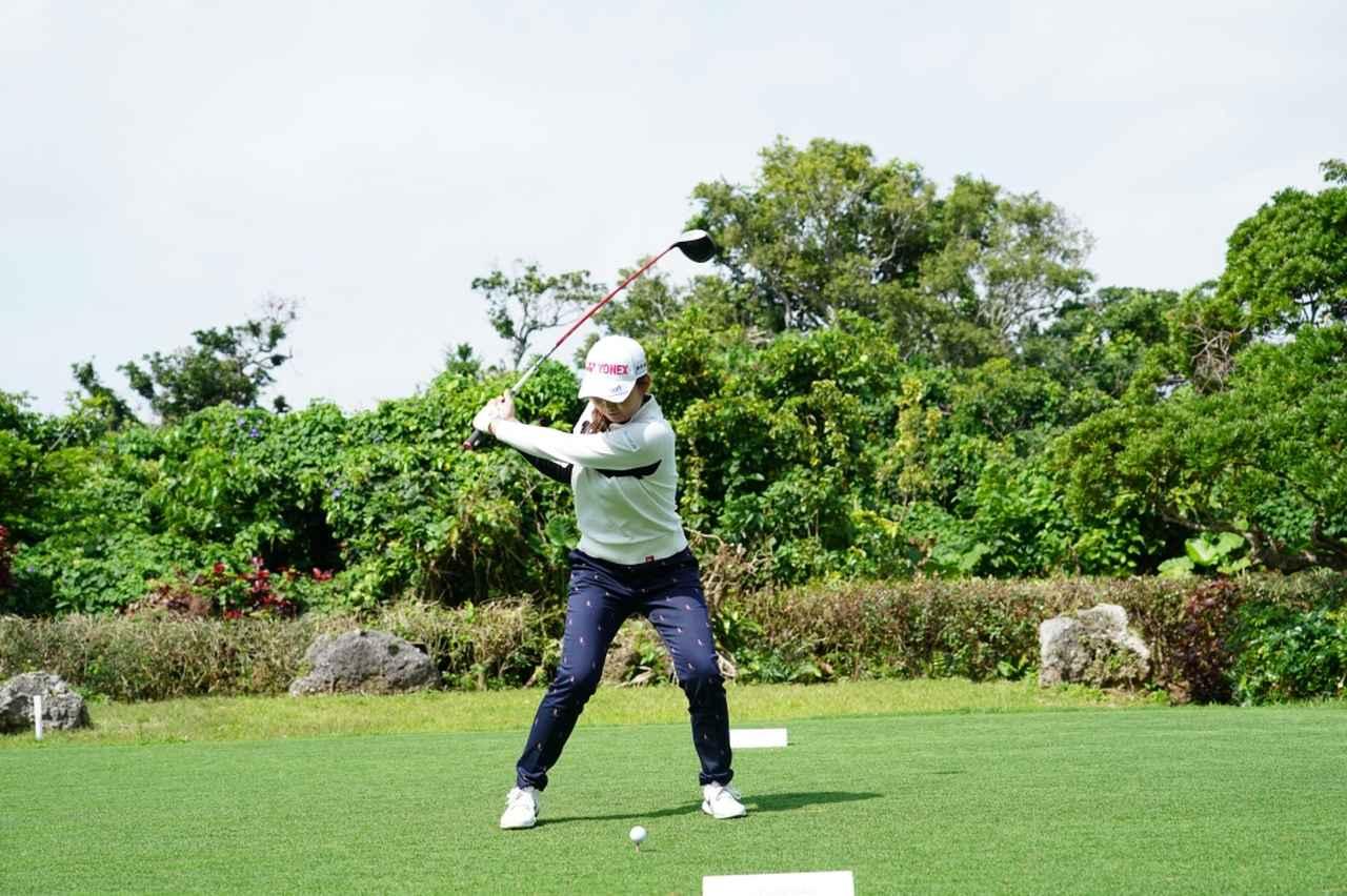 Images : 5番目の画像 - 石井理緒のドライバー連続写真 - みんなのゴルフダイジェスト
