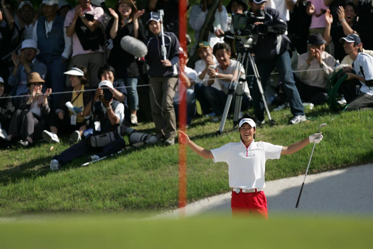 画像: 12年前の「マンシングウェアカップKSBカップ」。石川遼がこの試合を15歳で制してから、12年の月日が流れた