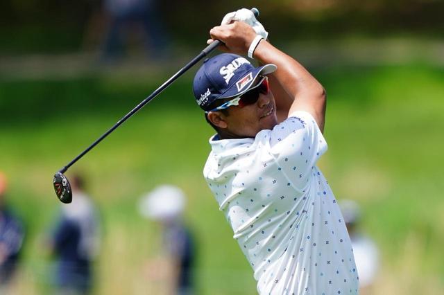 画像: 全米プロゴルフ選手権ではPING「G410 ハイブリッド」を使用していた松山だが、3Mオープンでは違うクラブをバッグイン(撮影/姉崎正)