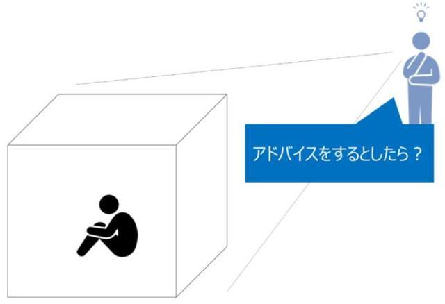 画像: ミスショットを繰り返すと「またミスするかも」「今日のスウィングおかしい」など四角い箱の中に閉じこもり囚われてしまう。そんな箱から脱出するためには……?
