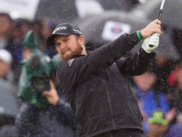 画像: 強風と雨の中、しっかりボールコントロールできたことがシェーン・ローリーの勝利に結びついた