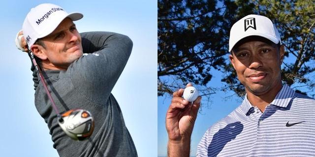 画像: 今年から本間ゴルフとクラブ契約を結んだジャスティン・ローズや、TOUR B XSボールを愛用するタイガー。日本メーカーのギアを使用して活躍するプロは海外に数多くいる