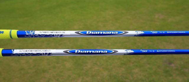 画像: 今季から「ディアマナ50」のシャフトを「SR」から「S」にチェンジ。その効果は、フェアウェイウッドの2本でもっとも感じるという