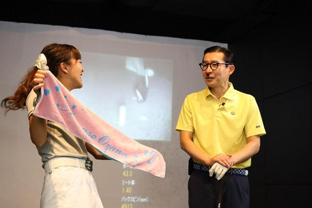 画像: 小澤美奈瀬オリジナルタオル・通称「みなせタオル」。実は高級タオルで汗を非常に良く拭きとってくれる