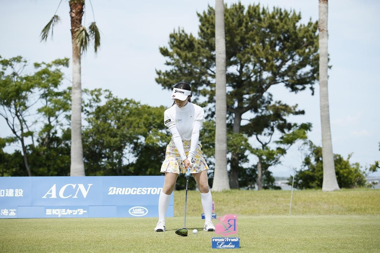 Images : 1番目の画像 - 臼井麗香のドライバー連続写真 - みんなのゴルフダイジェスト