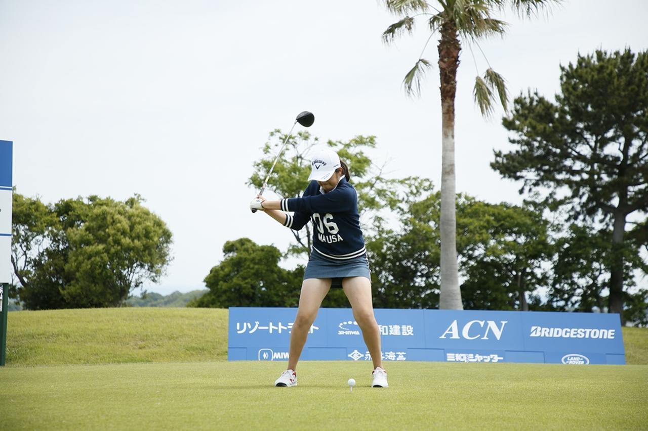 Images : 11番目の画像 - 初優勝! 稲見萌寧のドライバー連続写真 - みんなのゴルフダイジェスト