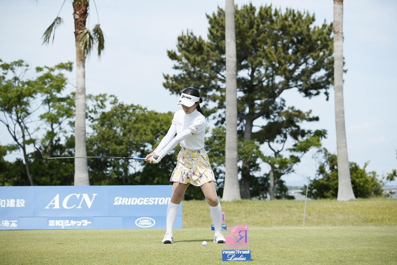 Images : 4番目の画像 - 臼井麗香のドライバー連続写真 - みんなのゴルフダイジェスト