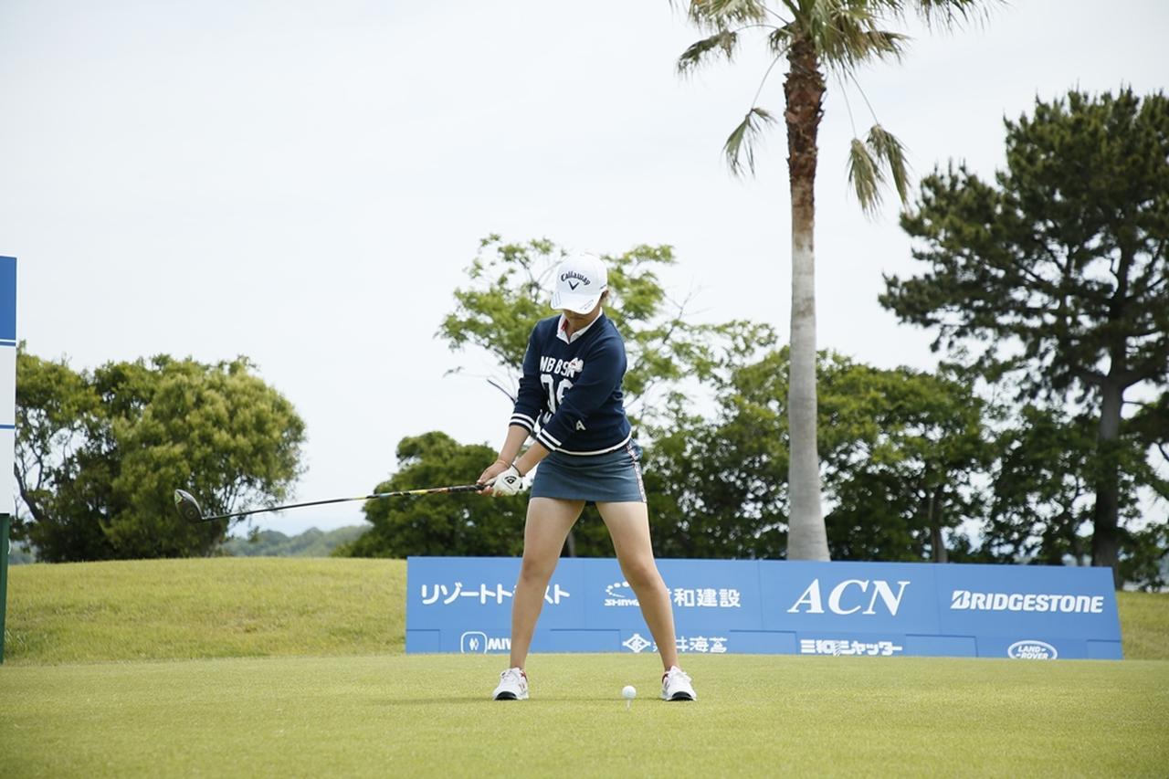 Images : 4番目の画像 - 初優勝! 稲見萌寧のドライバー連続写真 - みんなのゴルフダイジェスト