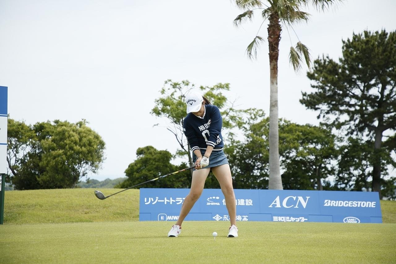 Images : 12番目の画像 - 初優勝! 稲見萌寧のドライバー連続写真 - みんなのゴルフダイジェスト