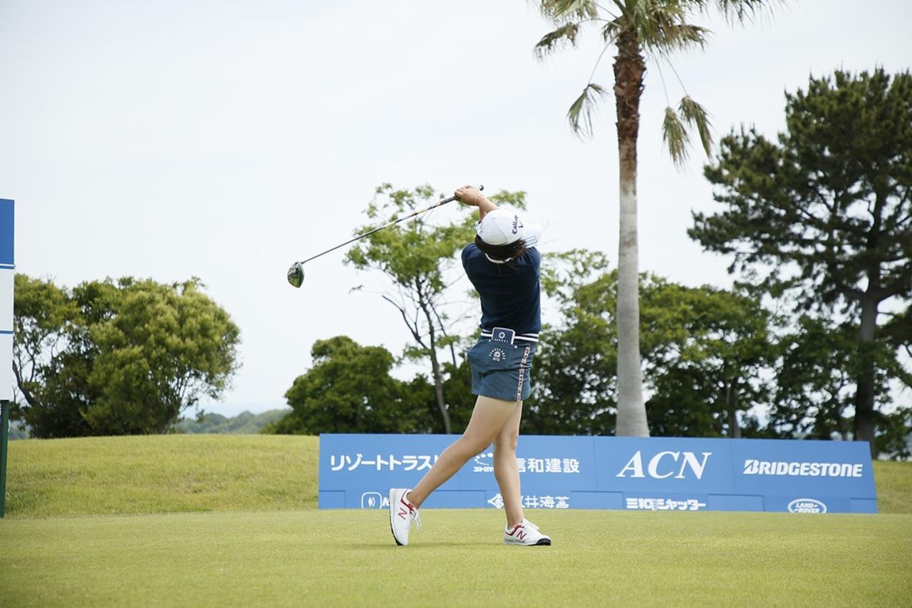 Images : 16番目の画像 - 初優勝! 稲見萌寧のドライバー連続写真 - みんなのゴルフダイジェスト