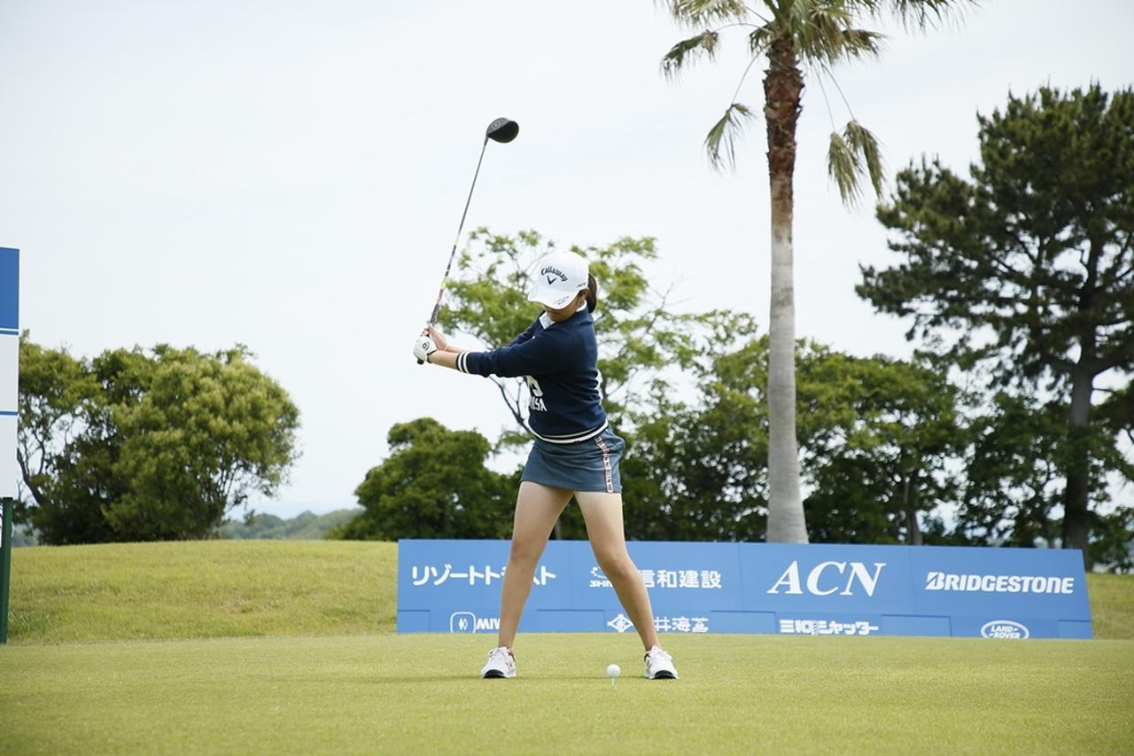 Images : 7番目の画像 - 初優勝! 稲見萌寧のドライバー連続写真 - みんなのゴルフダイジェスト