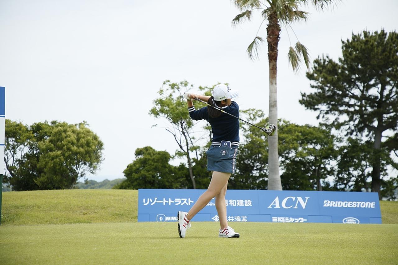 Images : 18番目の画像 - 初優勝! 稲見萌寧のドライバー連続写真 - みんなのゴルフダイジェスト
