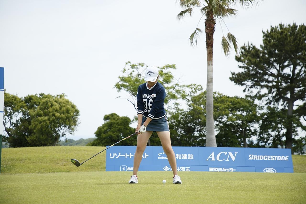 Images : 3番目の画像 - 初優勝! 稲見萌寧のドライバー連続写真 - みんなのゴルフダイジェスト