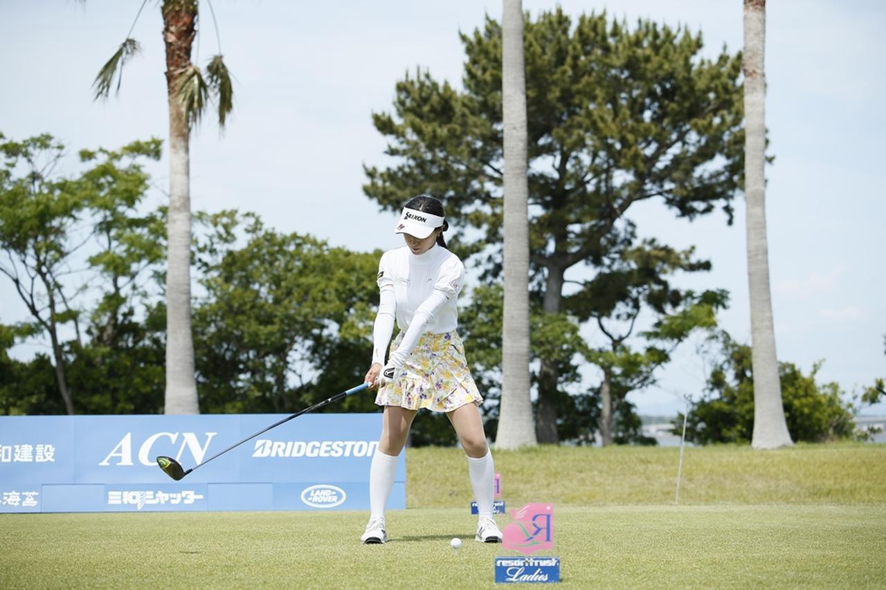 Images : 3番目の画像 - 臼井麗香のドライバー連続写真 - みんなのゴルフダイジェスト